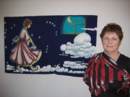 Pat Williams and her piece Orion