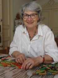 Christine Pradel-Lien in her studio.