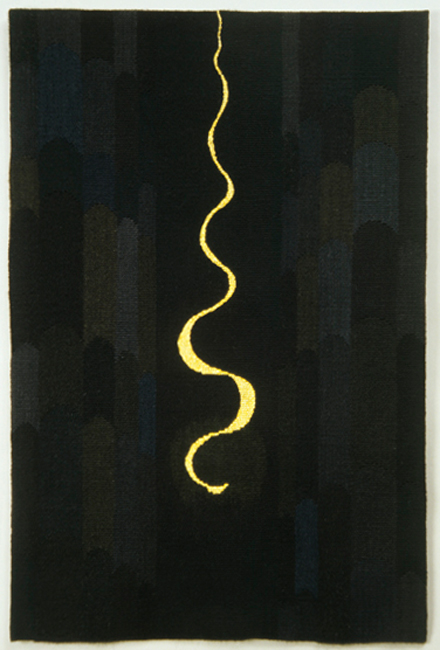 """Mary Colton, """"Lamplight Mosque"""" 2005, 36"""" x 24"""""""
