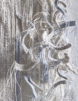 """""""A Line of water"""", detail (2014), 44cm x 186cm; price on application"""