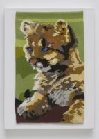 "Care Standley, ""California Cougar Cub"" (2015), 14"" x 9"""