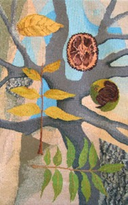 "Tommye McClure Scanlin, ""...to the essence of every nature...,"" 34""x 54"""