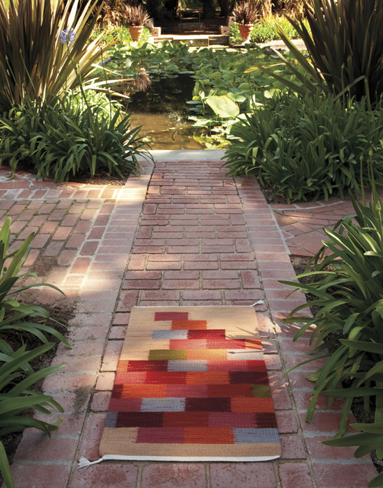 "Regina Vorgang, ""Brickwalk"" 2010, 24"" x 36"""
