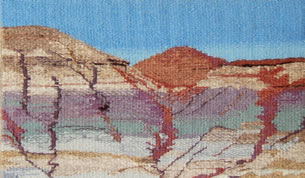 """Painted Hills"" Lyn Hart"