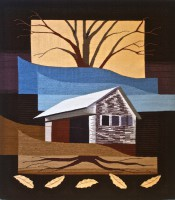 """Katie Hickey, """"Roots and Branches"""" 2011, 44"""" x 54"""""""
