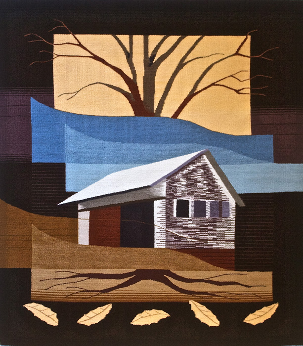 "Katie Hickey, ""Roots and Branches"" 2011, 44"" x 54"""