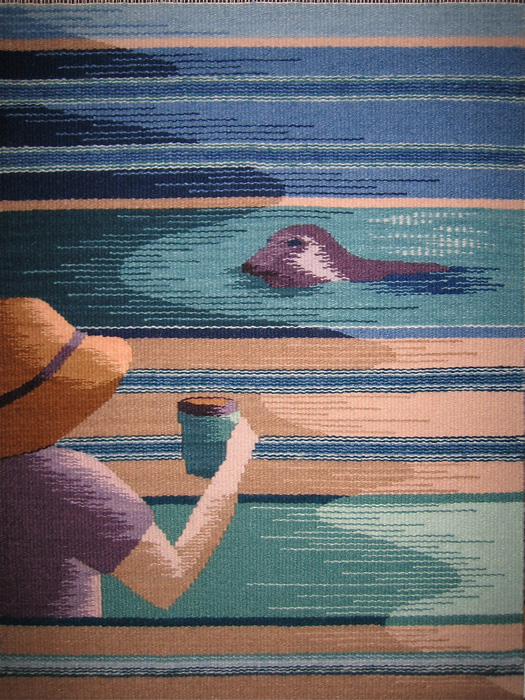 "Katie Hickey, ""Morning Tea"" 2012, 18"" x 23"""