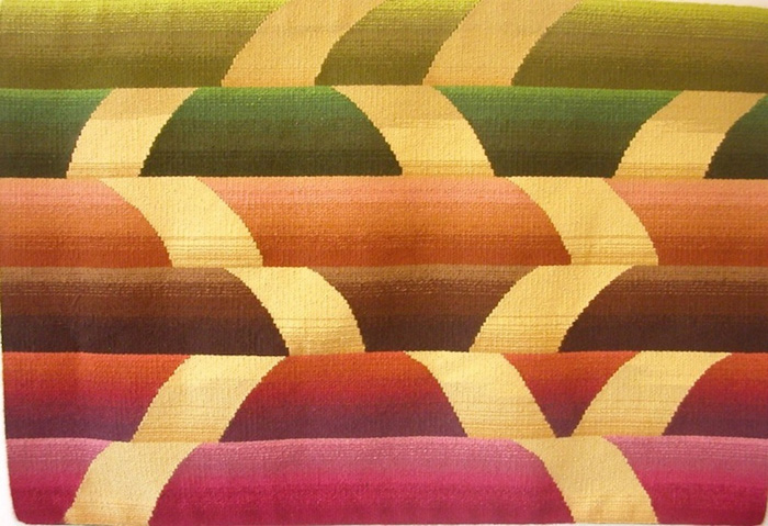 """Becky Powell, """"Winding Ribbons"""" (2011), 24"""" x 36"""""""