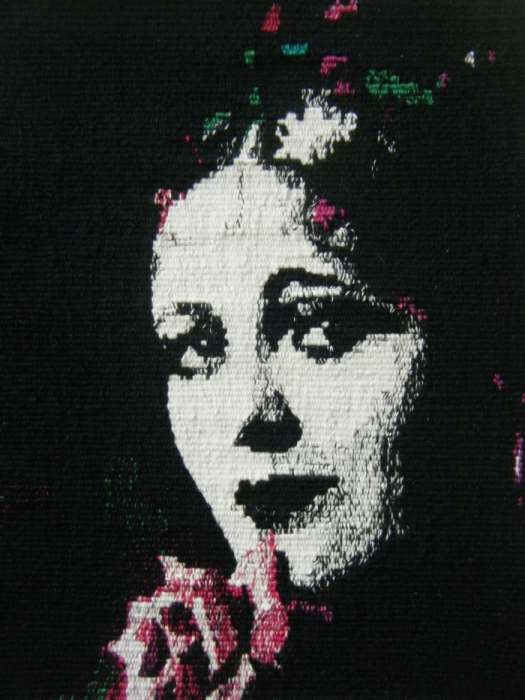 "Emma Jo Webster, ""Billie Dove"" (2013), 8"" x 11""; $1400"