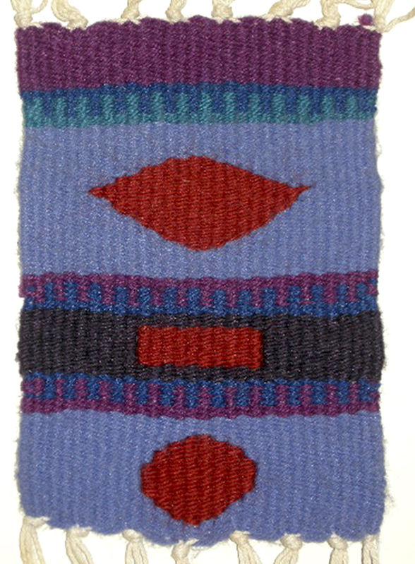"Fifth Grade Sampler"", 10""h x 7""w, 6 epi, photo: Lynda Brothers"