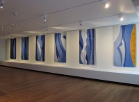 "Jeni Ross, ""Dance to the Music of Time"" (2012), 2000 x 1000mm each"