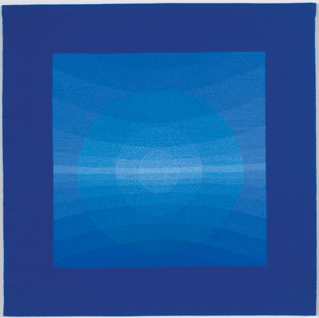 "James Koehler, """"Koan: Ensnared Light XI,"" 2006, 39.5"" x 40"""