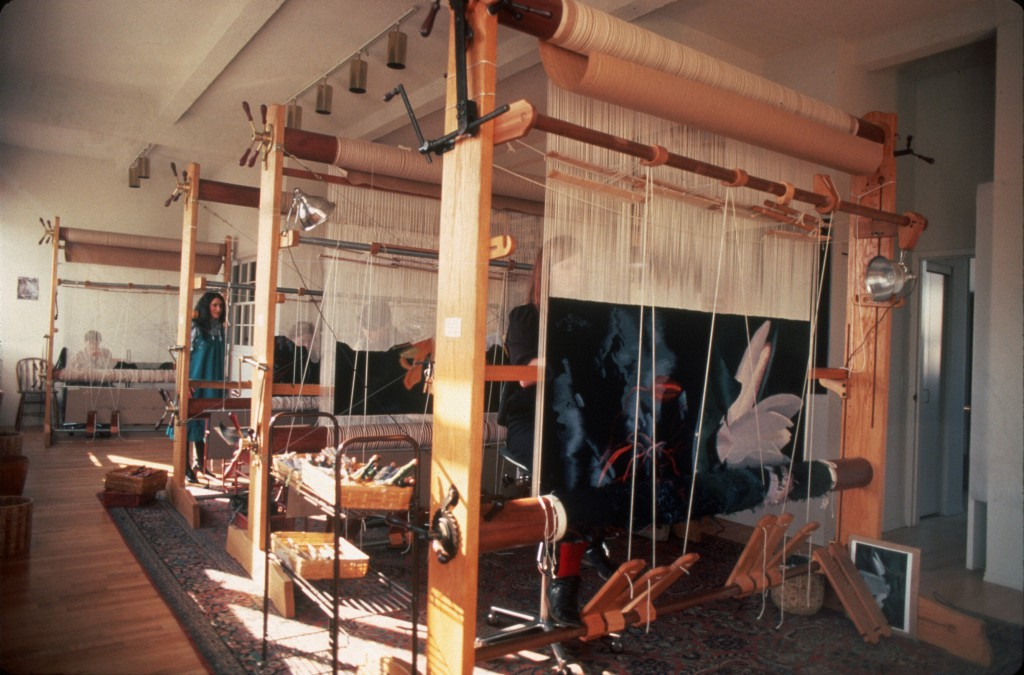 The Scheuer Tapestry Studio