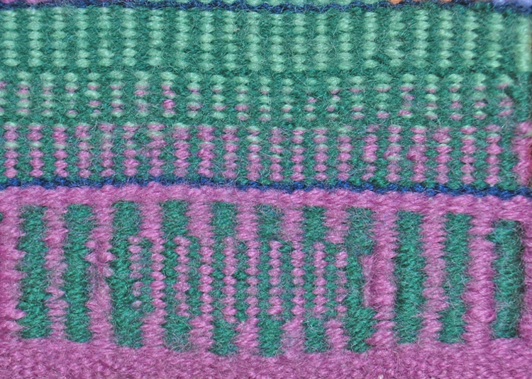 Choosing warp and weft: once again and some new stuff